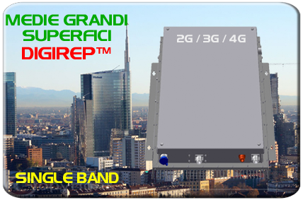 Ripetitore GSM 3G UMTS 4G LTE Professionale con Web Server